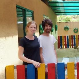 Talia Mayson and Jarred Durbach