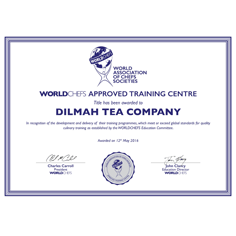 WACS Recognition for School of Tea