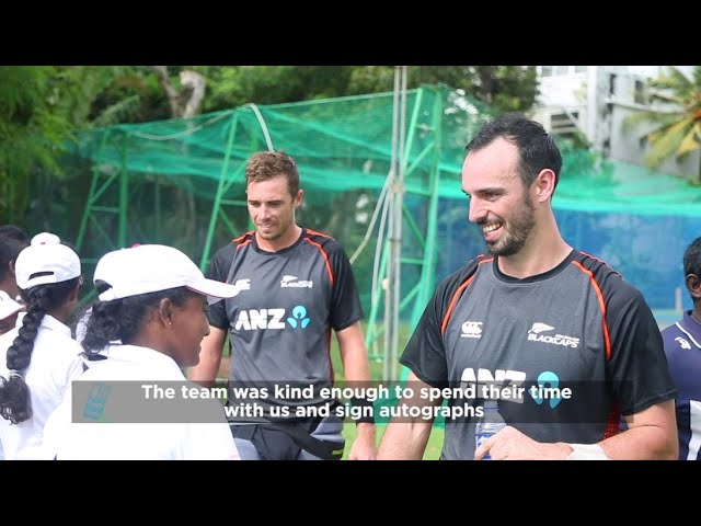 Black Caps Inspires the Young CLF Cricketers