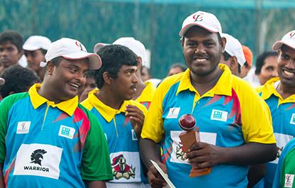 The Rainbow Cricket Team