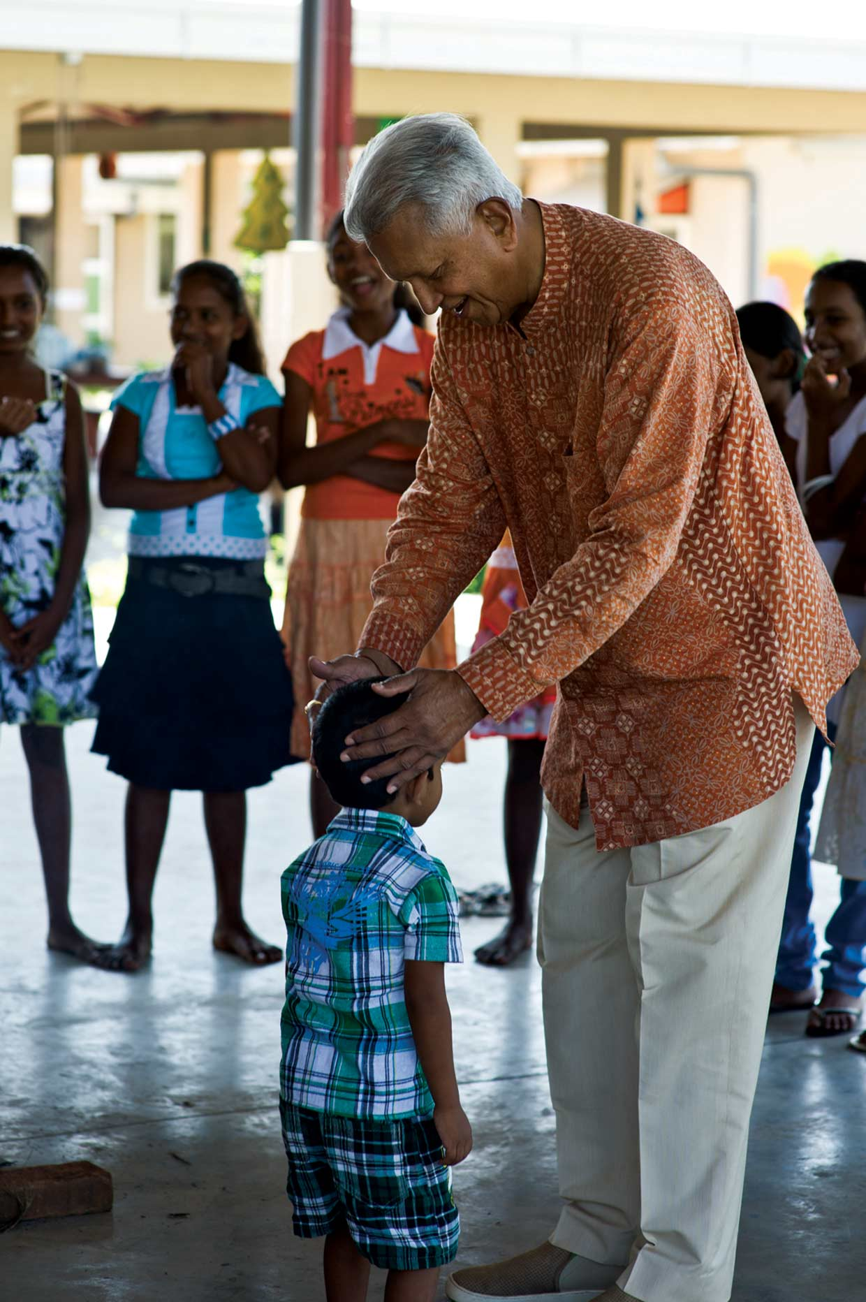 """""""The wellbeing of children is an important part of Dilmah's work"""" Merrill J. Fernando, Settlor of the Merrill J. Fernando Charitable Foundation. The MJF Kids Programme supports over 750 children island wide with education and leadership training since 2006."""