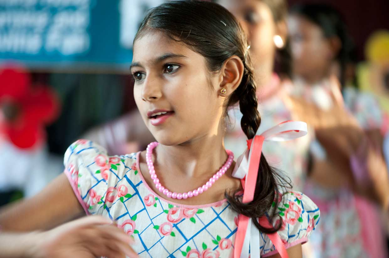 Chrishanthini, young poet, talented dancer and MJF Kid. Her transformation from a child without hope into a MJF Kid with a bright future is one of inspiration for others.