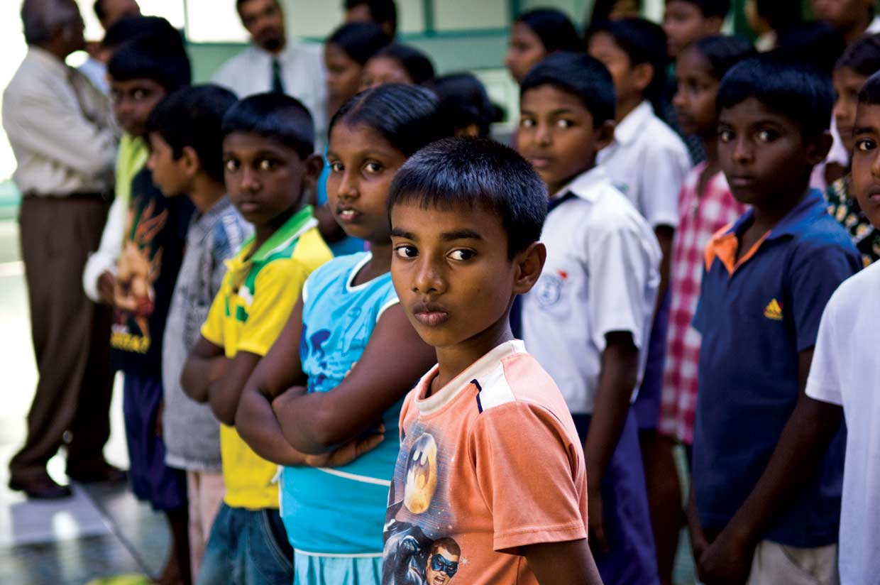 """""""I made a lot of new friends, I learnt about team work, overcoming challenges, leadership qualities and taking care of others"""" says Akila Maduranga from Moratuwa of his experience at the MJF Kids leadership training camp in 2010."""