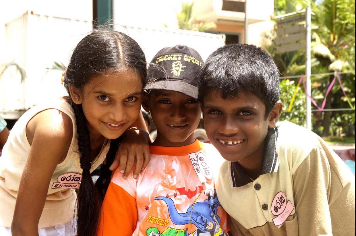 MJF Kids all smiles at a kid's event sponsored by the MJF Charitable Foundation. Each year, the lives of over a hundred slum dwelling children are enriched with better education, nutrition and an opportunity to express themselves through the MJF Kids Programme.