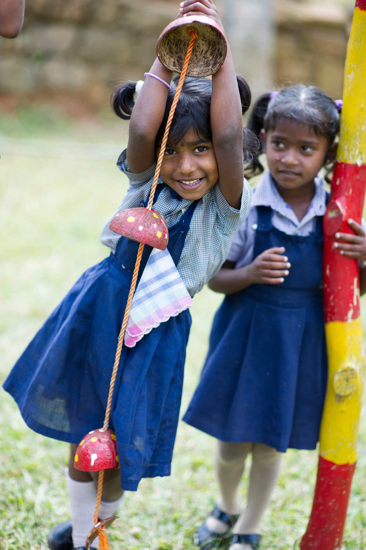 Young children play at one of the many Dilmah sponsored nurseries situated in Dilmah plantations. Education and crèche facilities for children under the age of 5 are provided free of charge by the MJF Charitable Foundation.