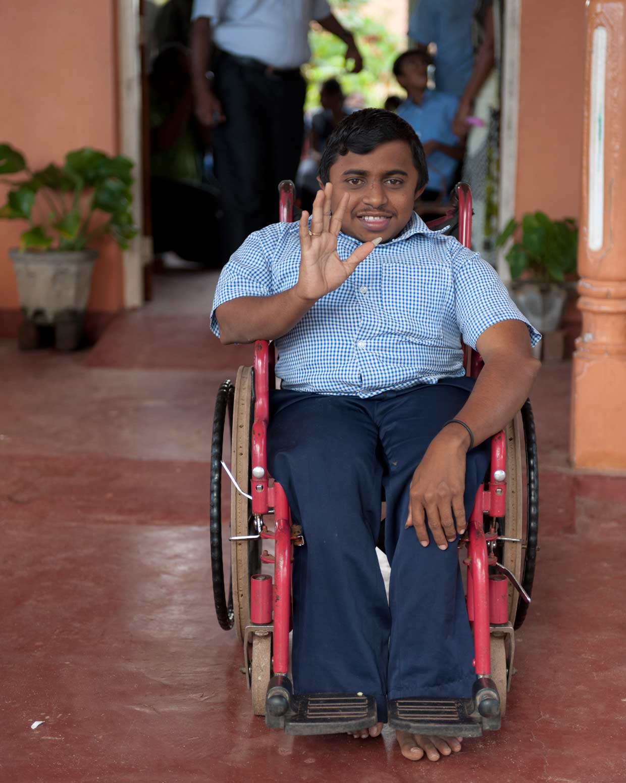 The MJF Charitable Foundation introduced a comprehensive programme to address the needs of the differently abled in Sri Lanka in 2008. The programme supports the wellbeing of children and youth with special needs.