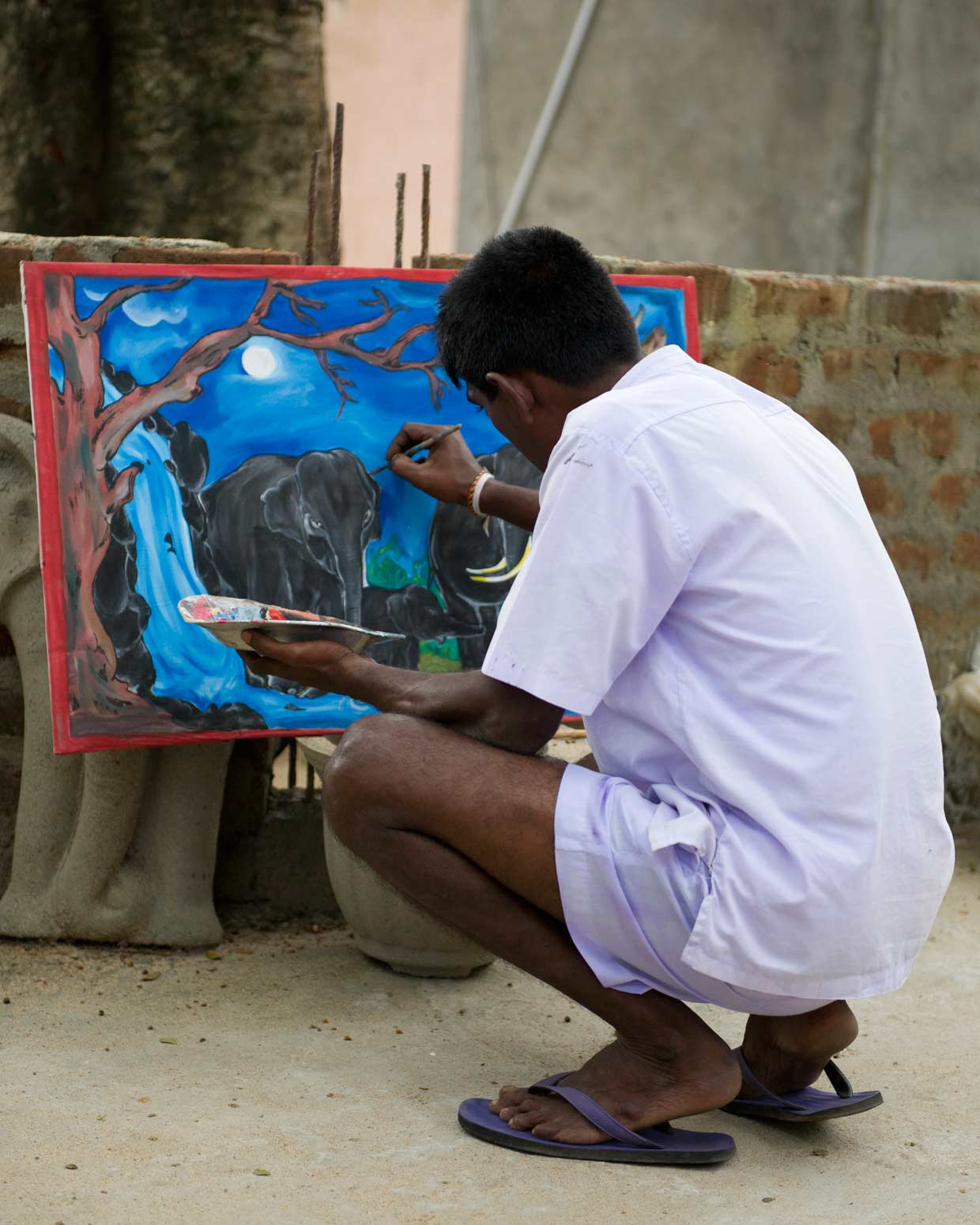 Harnessing the creativity of prison inmates in an effort to support a balanced rehabilitation process. An initiative of the MJF Charitable Foundation carried out in the Moneragala Prison in south eastern Sri Lanka.
