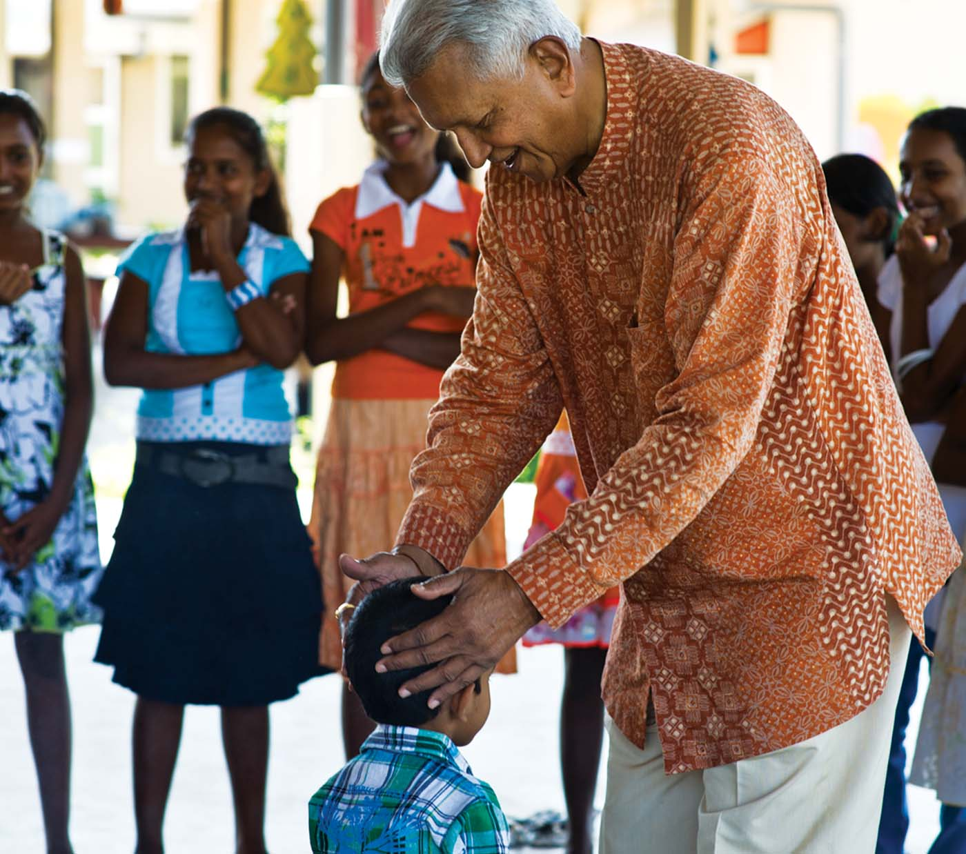 """The wellbeing of children is an important part of Dilmah's work"" Merrill J. Fernando, Settlorof the Merrill J. Fernando Charitable Foundation. The MJF Kids Programme supports over 750 children island wide with education and leadership training since 2006."