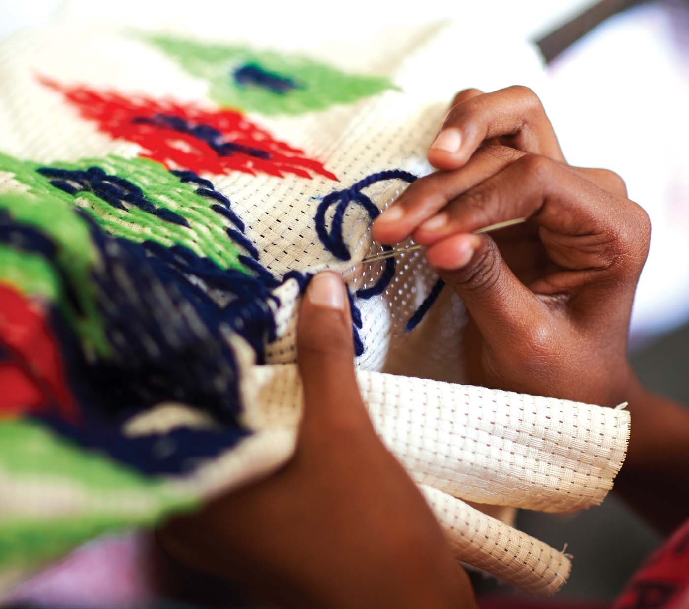 MJF Kids are part of daily sewing classes at the MJF Centre in Moratuwa. On any given day, several MJF Kids are busy creating beautiful designs with coloured thread and ribbons on pillow cases and cushion covers, putting together wall hangings or just learning basic stitches.