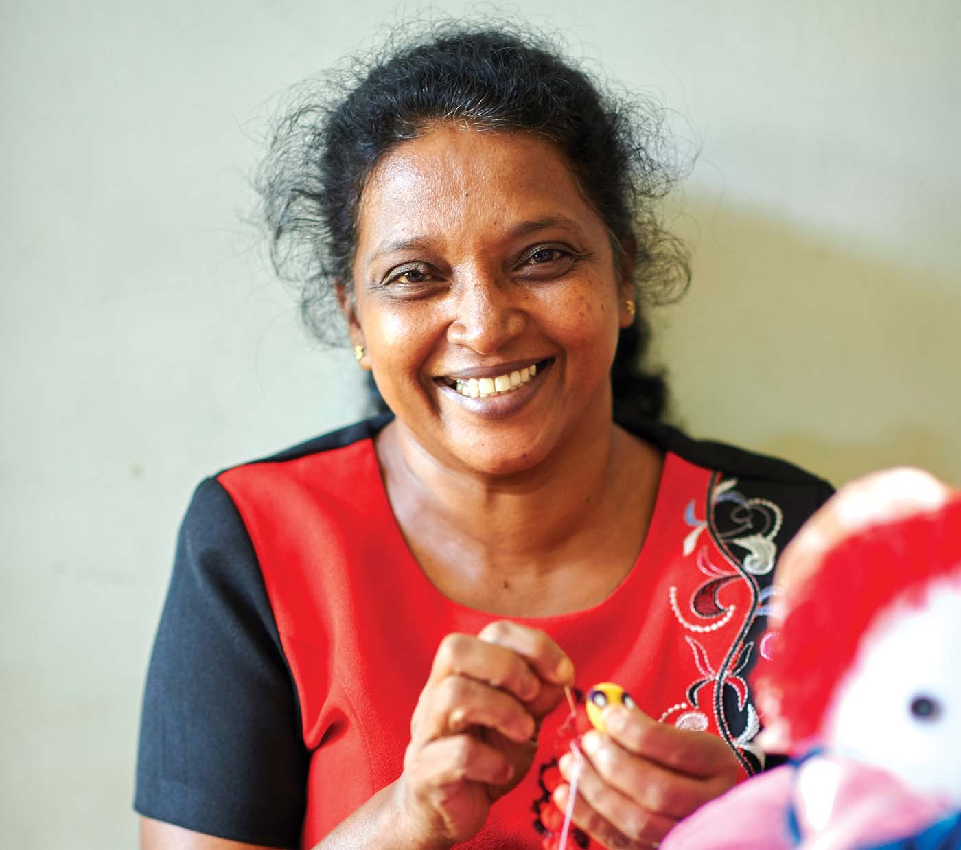 Our Women's Development Programme at the MJF Centre in Moratuwa trains disadvantaged women in sewing, cooking and gardening not only as a skill development but also as an activity that allows them to escape the trials of their day to day lives.