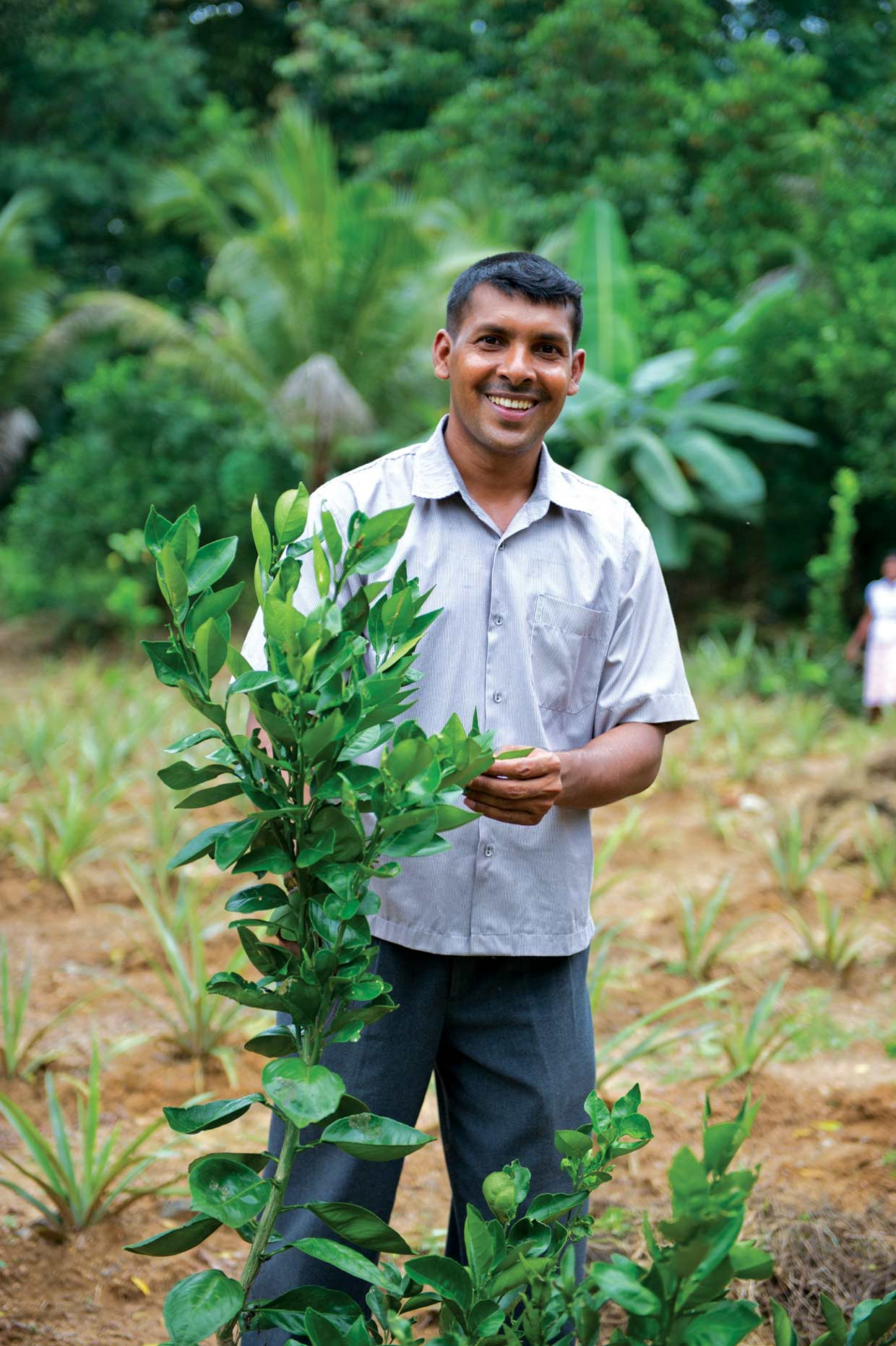 Samantha is a successful businessman and community leader in Moneragala, one of the least developed districts in Sri Lanka. He is one of the early recipients of the Prison Reform and Reintegrate Programme of the MJF Charitable Foundation established in 2007.