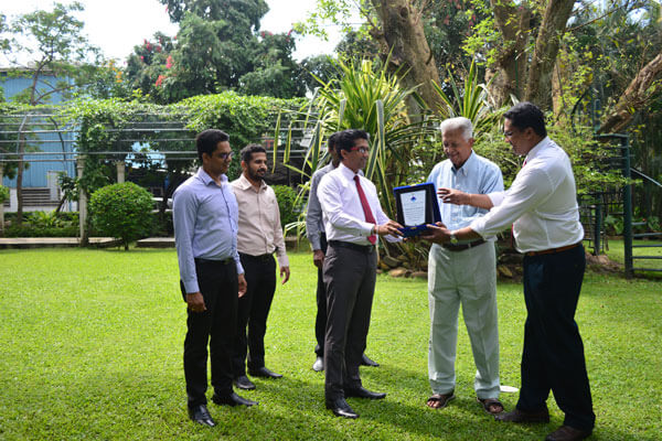 MEPA recognised Dilmah's dedication to Marine Conservation