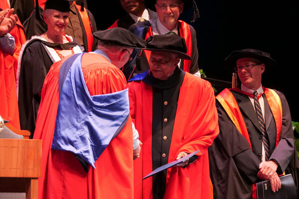 Dilmah Tea Founder capped as a Doctor of Science
