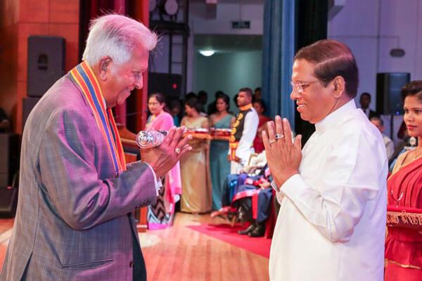 "Dilmah Founder bestowed with the ""Deshamanaya"