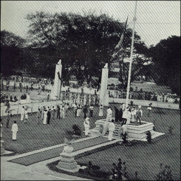 Ceylon gains independence