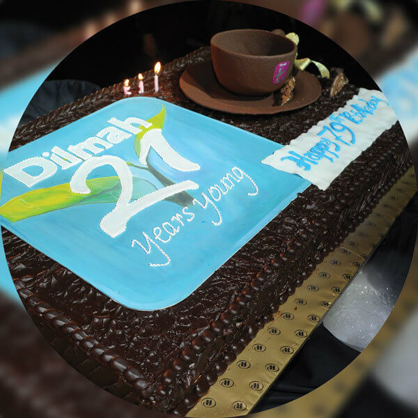 Dilmah celebrates its 21st Anniversary and the Founder's 60th year in tea