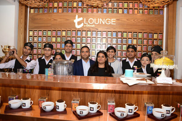 Dilmah first t-Lounge in India