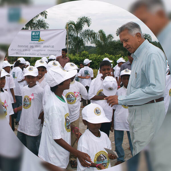 "The inaugural outdoor event for MJF Kids ""Pahan Tharuwa"" held in Colombo"