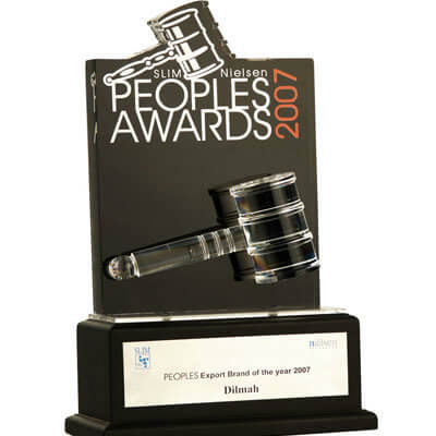 Dilmah wins People's Export Brand of the year at the SILM-Nielsen Peoples Awards