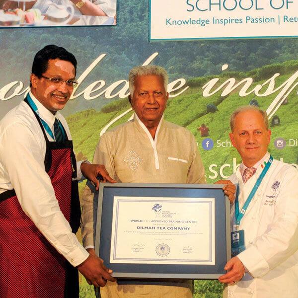 Dilmah's school of tea receives WACS certification