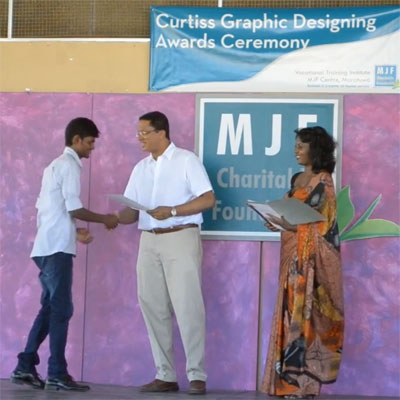 MJF Centre Moratuwa - Curtiss Centre Graduation - 2013