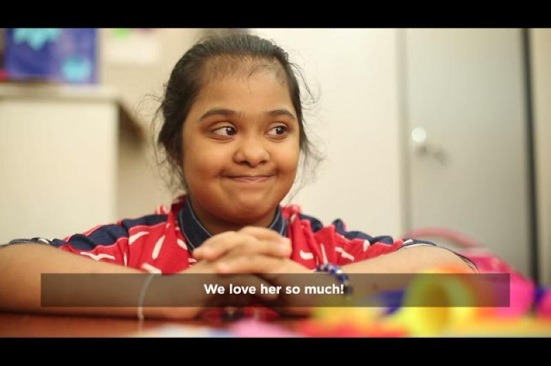 Down Syndrome Day - #LotsOfSocks Nethmi
