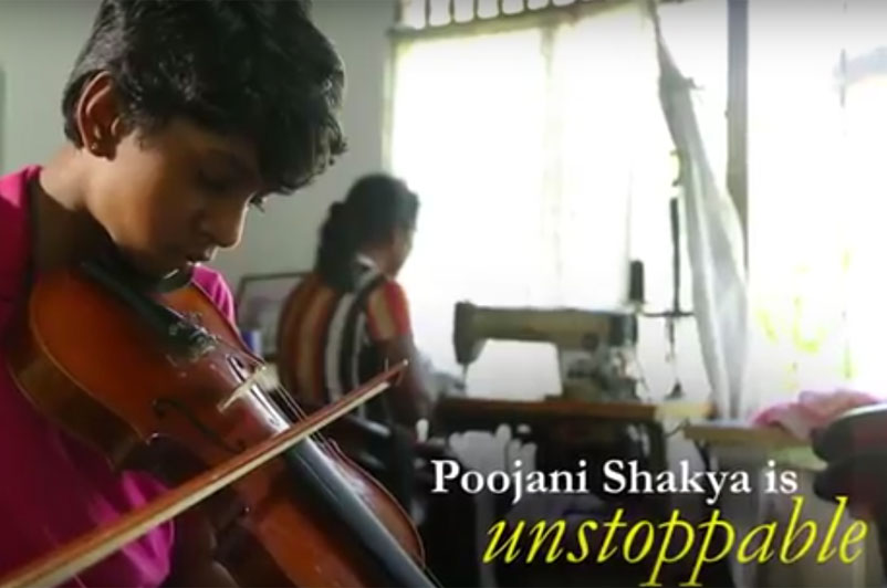 #DifferentIsNotDisabled Poojani Shakya - The unstoppable girl