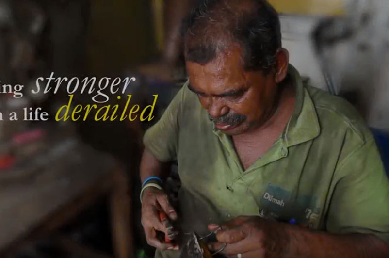 Hope: Upali - a gas cooker repairer's struggle and survival